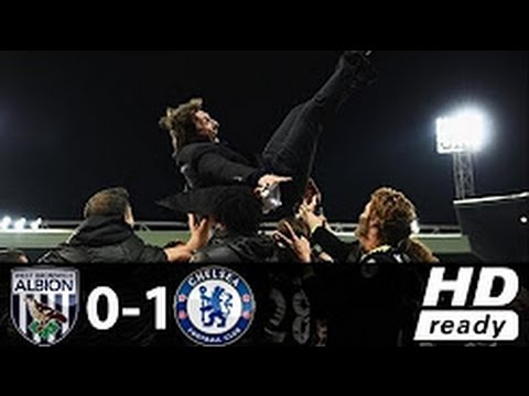 Download West Brom vs Chelsea 0 1 ~ Goals & Highlights 12 May 2017 HD