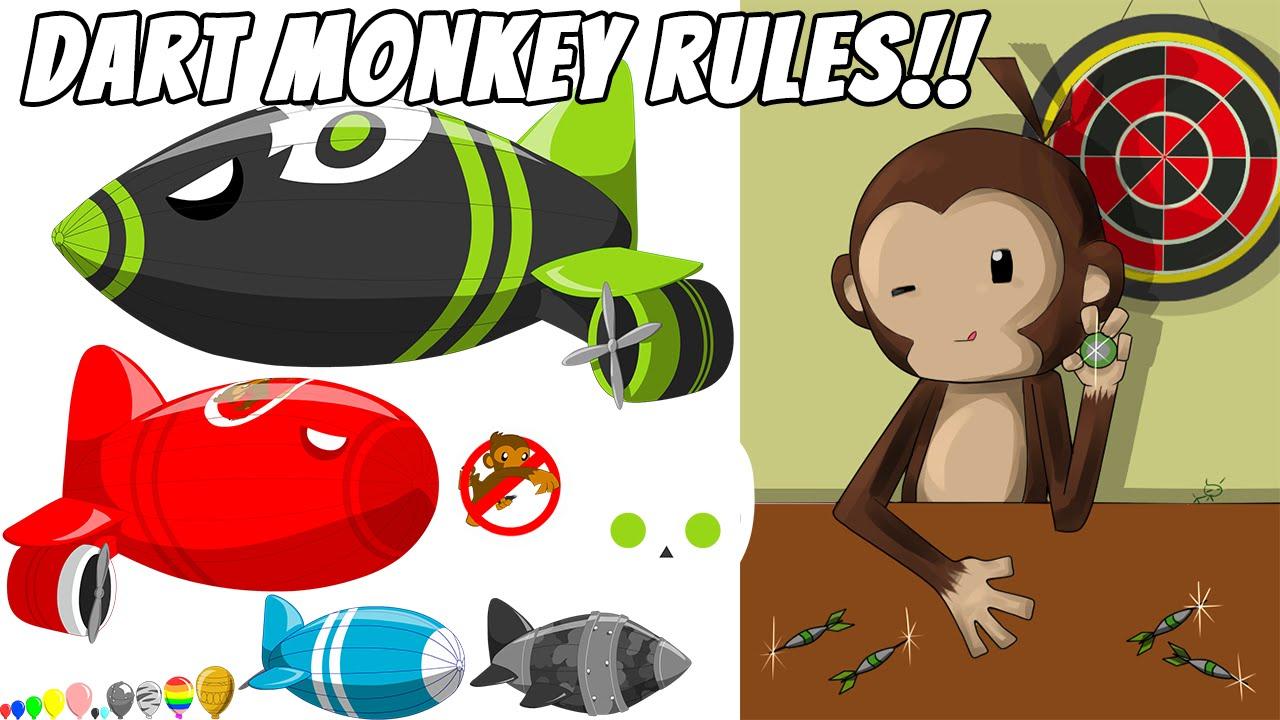 BLOONS TD BATTLES (BTD) - DART MONKEY RULES!!!!! - YouTube