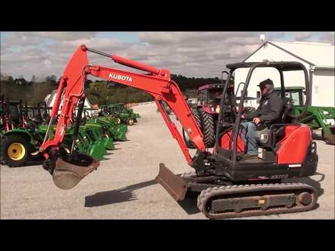 2018 Kubota KX71-3 Mini-Excavator For Sale!