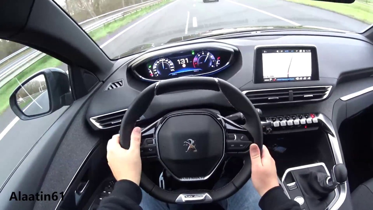 peugeot 3008 2017 test drive - youtube