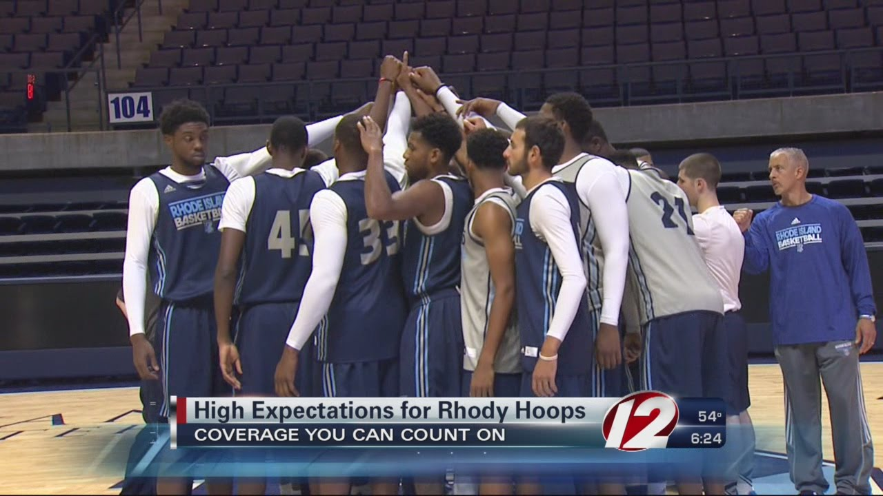 more photos 3b821 53afc High Expectations for URI Basketball in 2015-2016