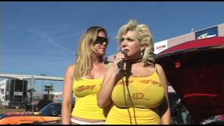 Repeat youtube video Claudia Marie hangin 'em out at sema