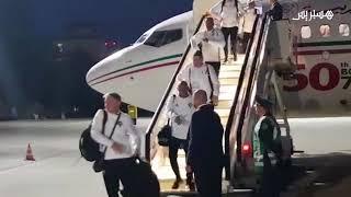 وصول المنتخب المغربي إلى روسيا للمشاركة في المونديال