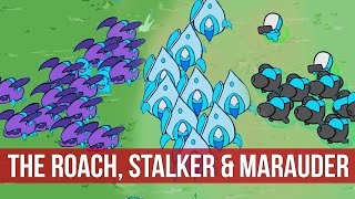 StarCrafts: The Roach, Stalker & Marauder - StarCrafts Arcade Mod! (2160p)