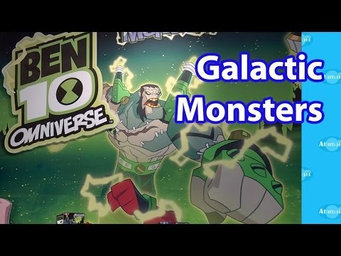 Ben 10 Galactic Monsters Toy Fair Preview