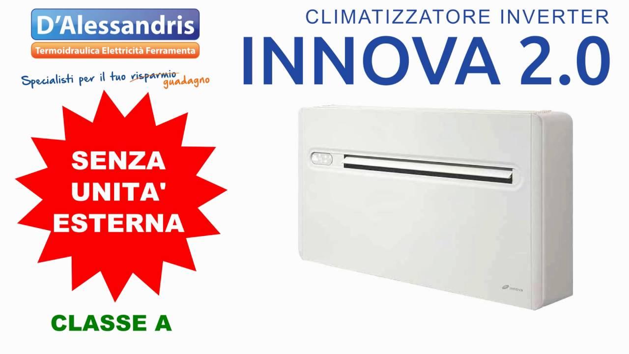 Climatizzatore condizionatore innova senza unit esterna offerta youtube - Condizionatore senza unita esterna ...