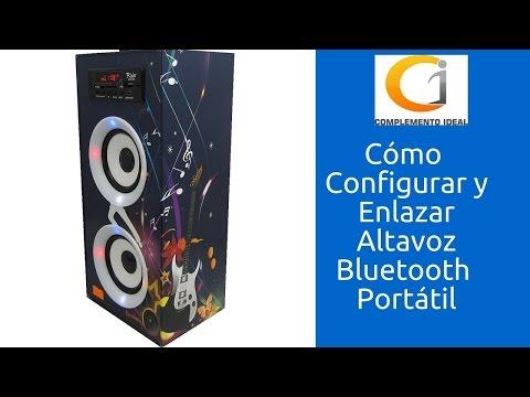 Cómo Funciona Altavoz  Portátil Inalámbrico Con Micro USB, Radio Guitarra BBQ SPEAKER | Parlantes