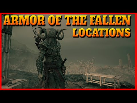 The Fate Of Atlantis Armor Of The Fallen Locations (Poisoner, Epiktetos, Deianeira And Swordfish)
