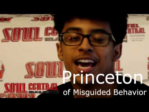 Princeton star of Misguided Behavior Shouts Out Soul Central Magazine @Soulcentralmag