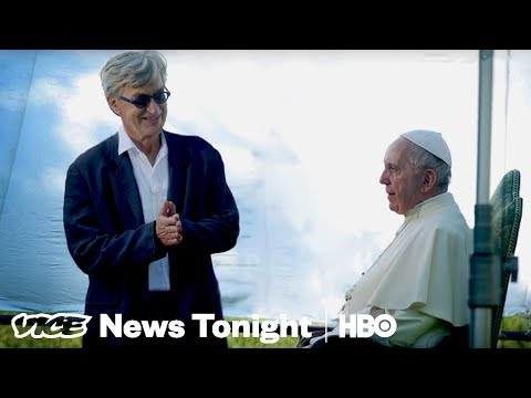 What It Was Like For Wim Wenders To Document The Pope HBO