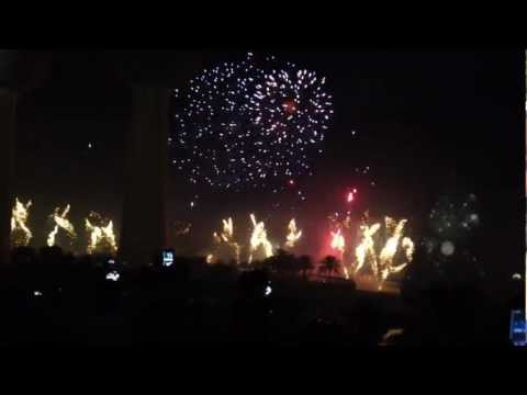Kuwait's Guinness Record Fireworks Show (HD) - 11/10/2012