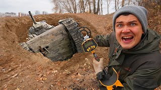 Эти жуткие находки мы нашли под землей где провалился Танк
