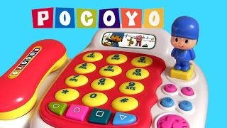 POCOYO Baby Musical Phone Activity Piano Figure with Songs! juguete para niños by ToyCollector