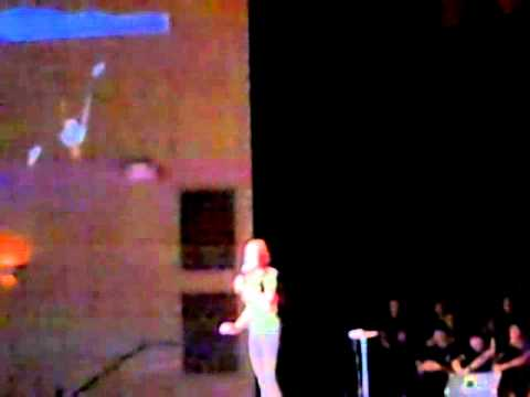 "ABBY SCOTT sings ""Electricity"" from Billy Elliot at Delaware County Christian School"