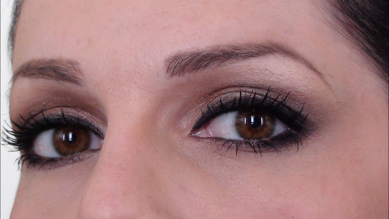Natural Makeup Tutorial For Brown Eyes Youtube