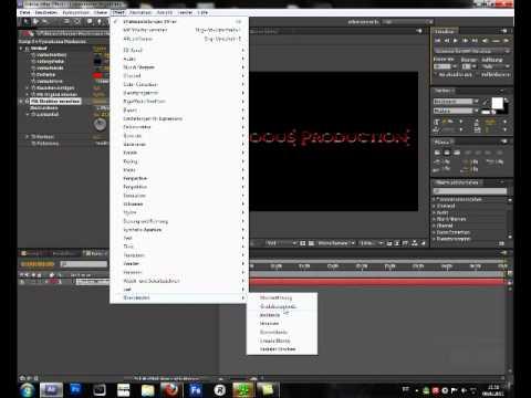 adobe after effects cs5 tutorials pdf