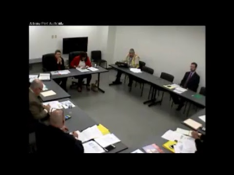 December 20, 2017 - Albany Port District Commission Board Meeting