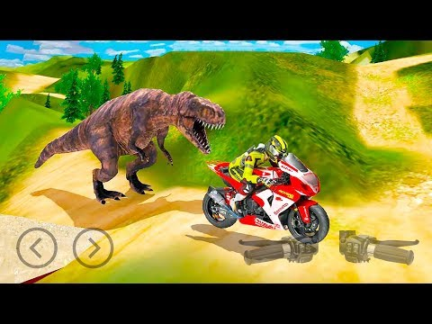 Bike Racing Dino Adventure 3D Game #Dirt Motorbike Racer #Bike Games To Play Download