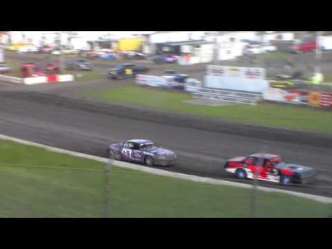 Stock Car Heat 1 @ Hamilton County Speedway 07/08/17