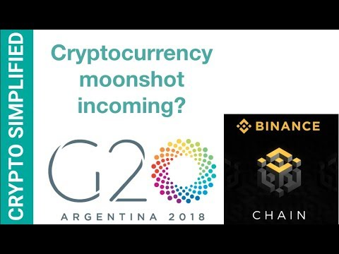 G20 to discuss cryptocurrency regulation? Congress & ICOs, Binance BNB to launch a new exchange?