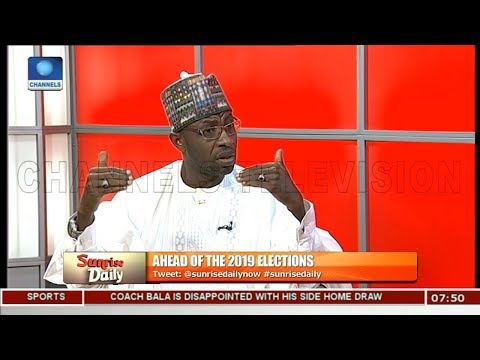 2019: Ensure A Clean Electoral Process, Keep Nigeria Alive & United, Tanko Warns INEC Pt.1