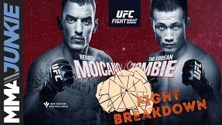 UFC on ESPN+ 12 fight breakdown: Renato Moicano vs. The Korean Zombie