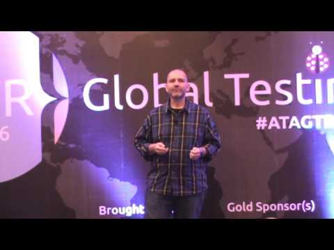 Marco Vermeulen at Agile Testing Alliance's Global Testing Retreat in Pune India