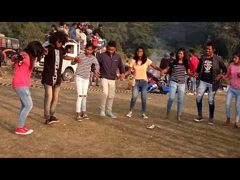 Damudih picnic.24 dec.2k17: Santhali dance