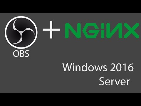 How to Setup OBS with NGINX on Windows for RTMP Streaming + VPS Hosted by Amazon AWS