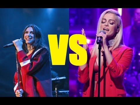 Bebe Rexha Vs Dua Lipa - (Live Vocals Battle)