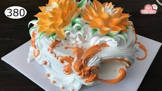 chocolate cake decorating bettercreme vanilla (380) Học Làm Bánh Kem Đơn Giản Đẹp - Sen (380)