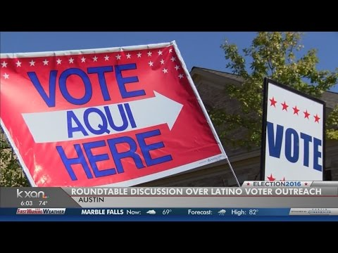 Central Texas Latinos pushing people to the polls