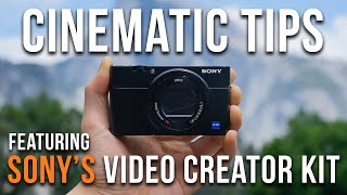 How to Shoot BETTER Videos NOW ft. Sony's NEW Video Creator Kit