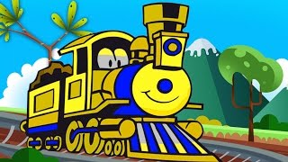 trains for children choo choo train   learn to count shapes and colors   kids trains cartoons