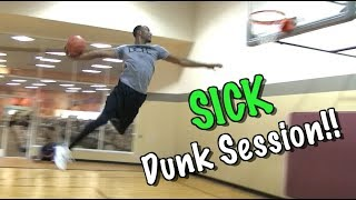 RAW Dunks : Chris Staples & Darius Purcell Dunk Session!! Video