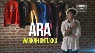 Ara AF2016 - Warkah_Untukku 📝 MP3