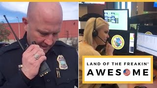 SUBSCRIBE NOW: https://bit.ly/2yLeLS1 A police officer made his fin...