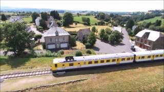 CANTAL - TRAIN TOURISTIQUE - GENTIANE EXPRESS