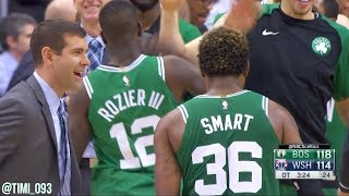Marcus Smart Highlights vs Washington Wizards (18 pts, 5 reb, 3 ast, 3 stl)