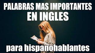 English pronunciation 1000 Palabras Más Importantes en Inglés - Inglés Básico para Principiantes - Inglés Americano