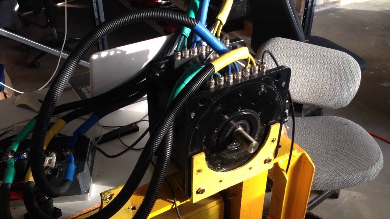 Driving A Golden Motor 20kw Pmac Motor Using A Sevcon Size