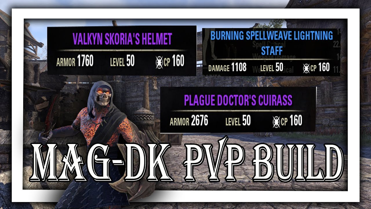 Repeat ESO - BEST Magicka Dragonknight DPS Battlegrounds