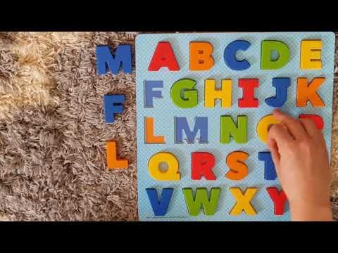 ABC Puzzle video