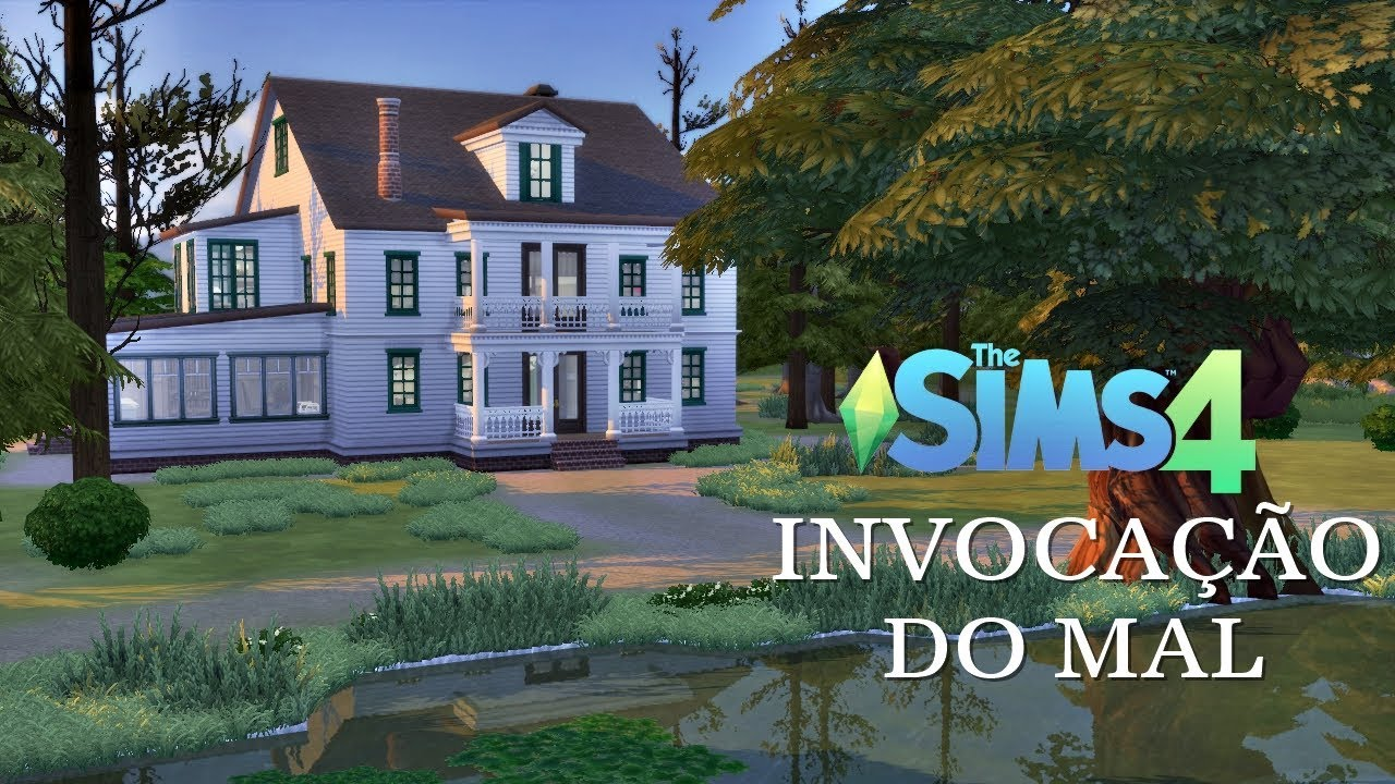 Casa do filme Invocação do Mal (The Conjuring) │The Sims 4 (Speed Build)
