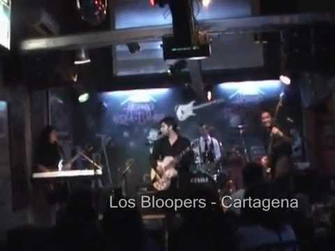 Los Bloopers - Cartagena (house rock and blues 15-12-09)