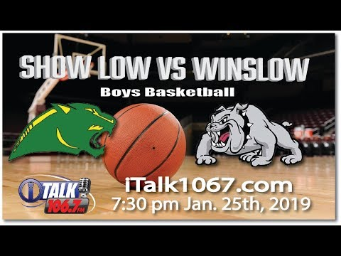 Show Low vs Winslow High School Basketball Full Game