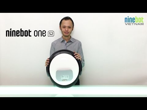 Xe điện 1 banh Ninebot One S2 - 1st Unboxing in Vietnam