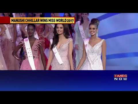 Miss world 2k17 -Crowning moment with TIMES NOW