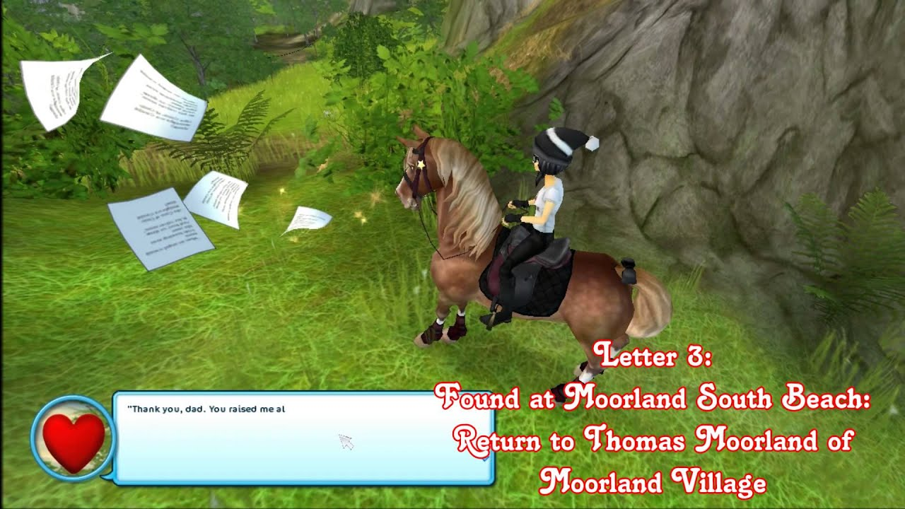 Star Stable Valentines Day Letters Locations 2015  YouTube