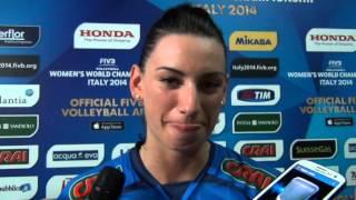 05-10-2014: Intervista a Raphaela Folie nel post Italia-Cina